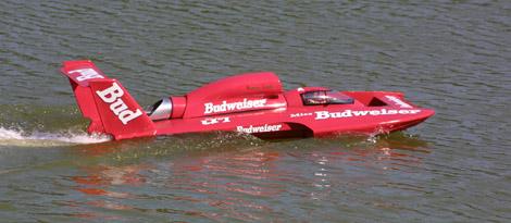 Pete Schille's 1998 Miss Budweiser