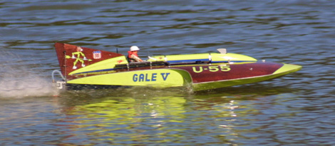 Classic Thunder 1 10th Scale Electric Hydroplane Racing